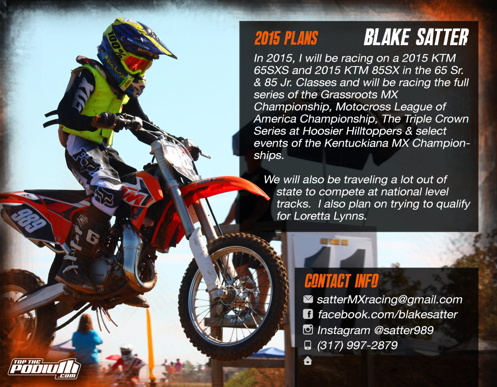 Motocross Sponsorship Resume Template
