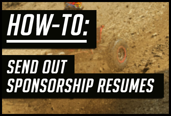 How-To send out sponsorship resumes