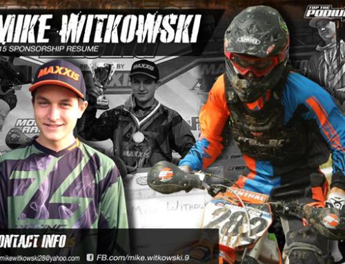 2015 Mike Witkowski Sponsorship Resume