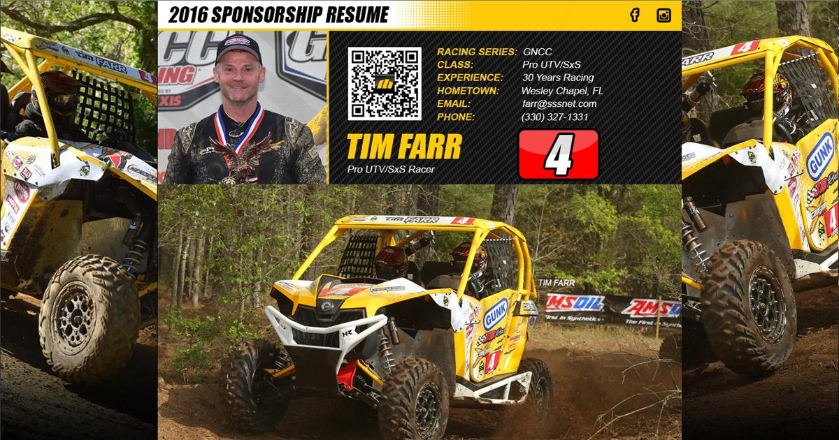 custom sponsorship resumes topthepodium